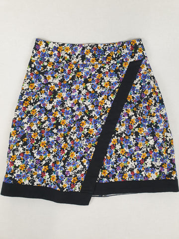 REVIEW Floral Skirt Womens Size 6