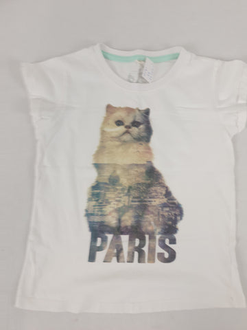 PAVEMENT Cool Cat Tee Girls Size 8