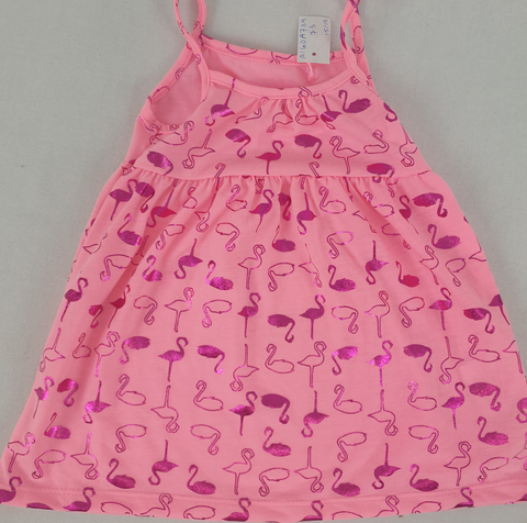Mango 'Flamingo' Dress Girls Size 0