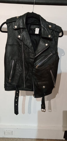 Womens Leather Jacket Size 34