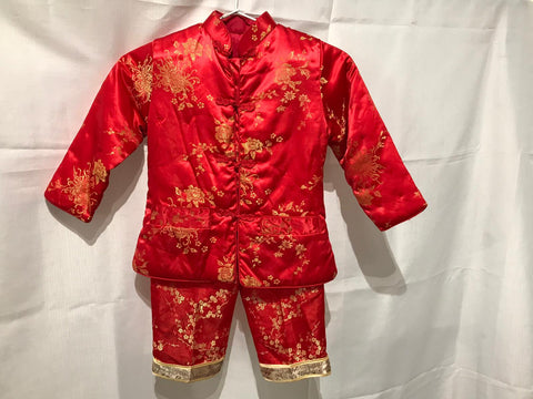 Chinese-Vietnamese Cute Kids Outfit 4-5Y