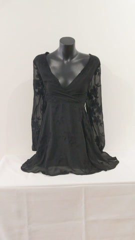 Angel Biba Mesh Womens Dress Size 8