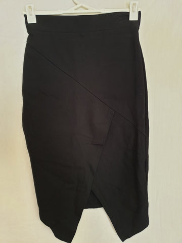 Wite Black Skirt Womens Size S