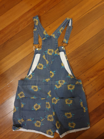 Sunflower Overalls Womens Size S