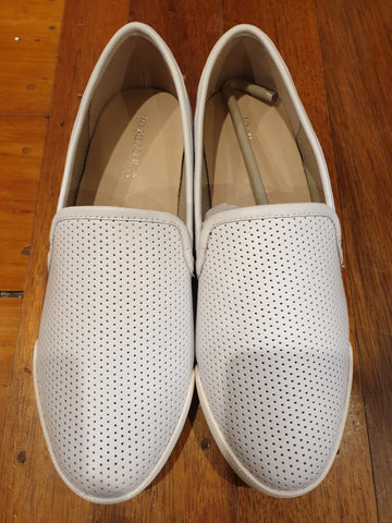 Jo Mercer White Leather Womens Shoes Size 41