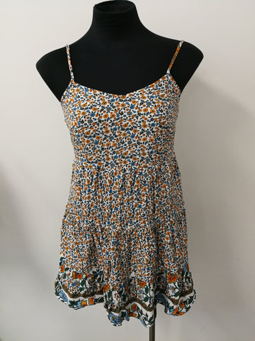ALLY Floral Dress Womens Size 8