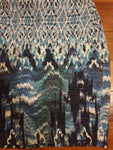 H & M Funky Pattern Skirt Womens Size 38