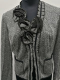 Anthea Crawford Gray Jacket Womens Size 12