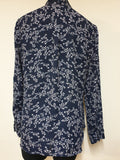 Portmans Sheer Long Sleeved Top Womens Size 14
