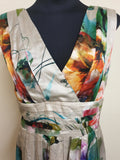 OJAY Blooms Print Dress Womens Size 12
