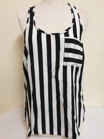 Bardot Striped Top Womens Size 8