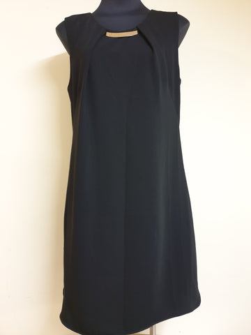 Diana Ferrari Black Dress Womens Size 14