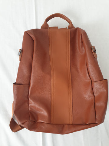 Brown Backpack Satchel Womens