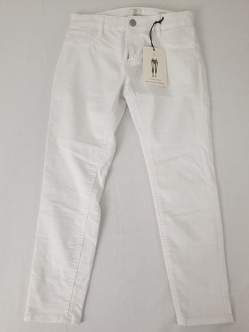 Cotton On BNWT White Capri Jeggings Womens Size 12