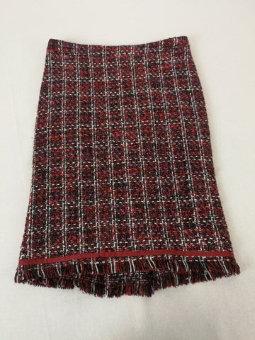 LAURA ASHLEY Tartan Skirt Womens Size 6