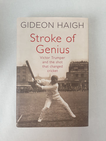 Stroke of Genius by Gideon Haigh Book BNWT