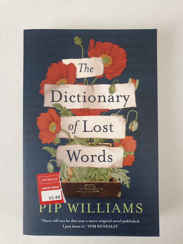The Dictionary of Lost Words by Pip Williams Book BNWT