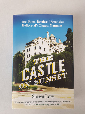 The Castle on Sunset by Shawn Levy Book BNWT