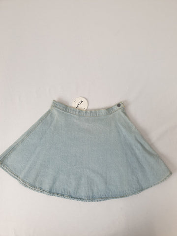 BNWT My Girl Fashion Denim Mini Skirt Womens Size 8