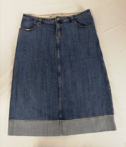 RIVERS Denim Skirt Womens Size 14