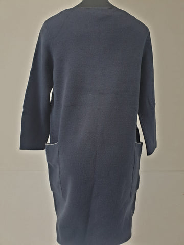 Phase Eight BNWT Navy Pocket Dress Womens Size 10