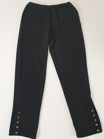 ZALORA Collection Black Pants Womens Size M