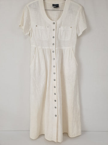 Vintage Stitches Dress Womens Size 10