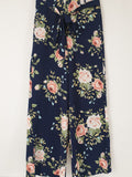 TEMT Floral Flare Pants Womens Size 10