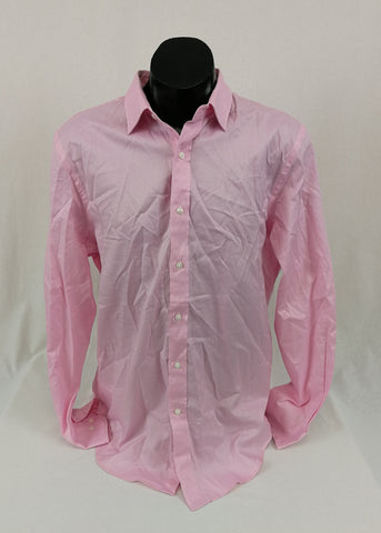 DAVID JONES Men's Tailored Fit Shirt Size 43