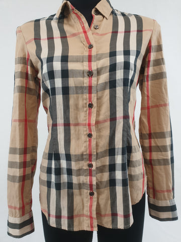 BURBERRY Top Womens Size M