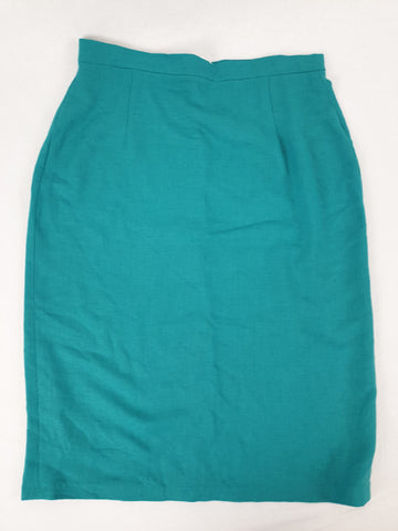 'Vintage Style' Hand made Aqua Skirt Womens Size M