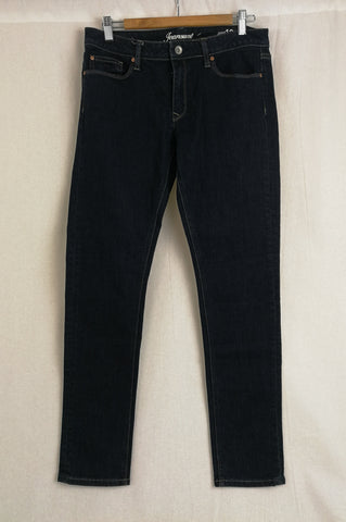 JEANS WEST Dark Blue Wash Jeans Size 12