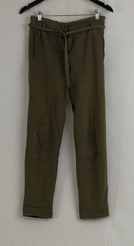 WITCHERY Moss Green Pants Womens Size 6