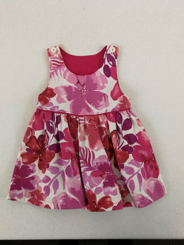 HIBISCUS FLOWERS Kids Dress Size 1