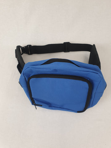 Trendy Cool Blue Hip Bag