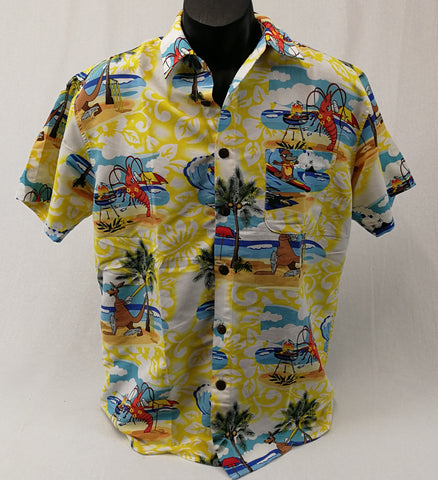 LOWES Party Shirt Mens Size M