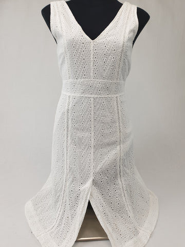 RYDER White Dress Womens Size M