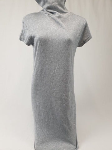TIGHTROPE Silver Glitter Dress Womens Size 14