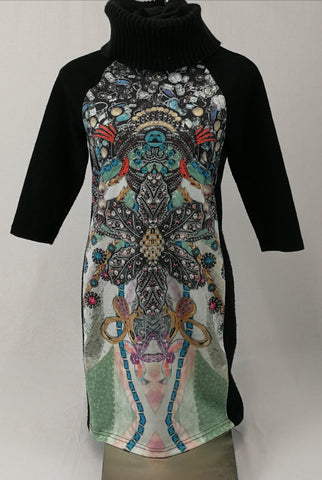 THINK Dress Womens Size S