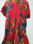 ME Bright Floral Dress Womens 5XL