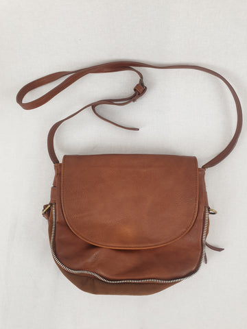 PULL & BEAR Brown Leather Bag Womens Accessory