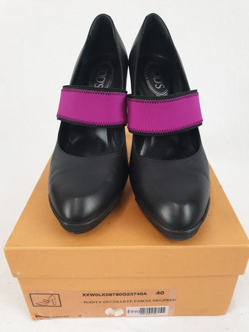 TOD'S RRP $890 Leather Shoes Womens Size 40 *REDUCED*