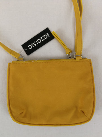 DIVIDED Mustard Shoulder Bag Womens Accessory