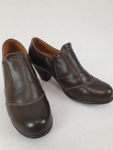 RIVERS Leather Lined Brown Shoes Womens Size 39