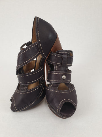 BOUTIQUE Leather Shoes from Brazil Womens Size 7M