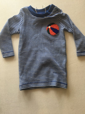 Seed Baby Long Sleeve Top Size 000 Bnwt