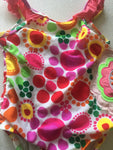 Faded Glory Swimsuit Girls Size 2