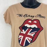 The Rolling Stones Band Tee Womens Small Size 12