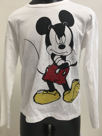 Disney Mickey Mouse Girls Top Size 7