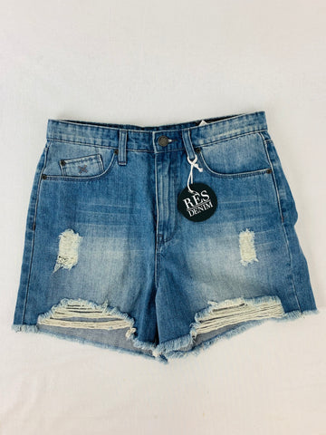 RES DENIM Cotton Shorts Womens Size 27 RRP $89.95 *Reduced*